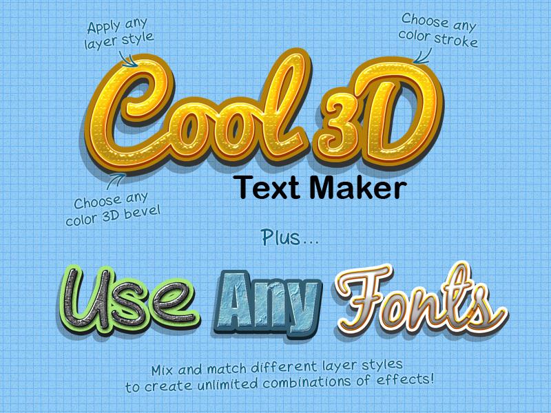 Module 9 Cool 3D Text Maker